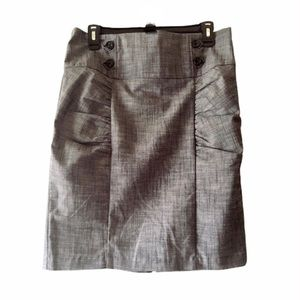 HeartSoul Gray Pencil Skirt Size 11 Juniors